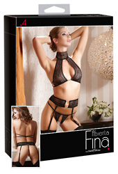 Suspender Set Lace M