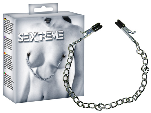 Nipple Chain with clamps