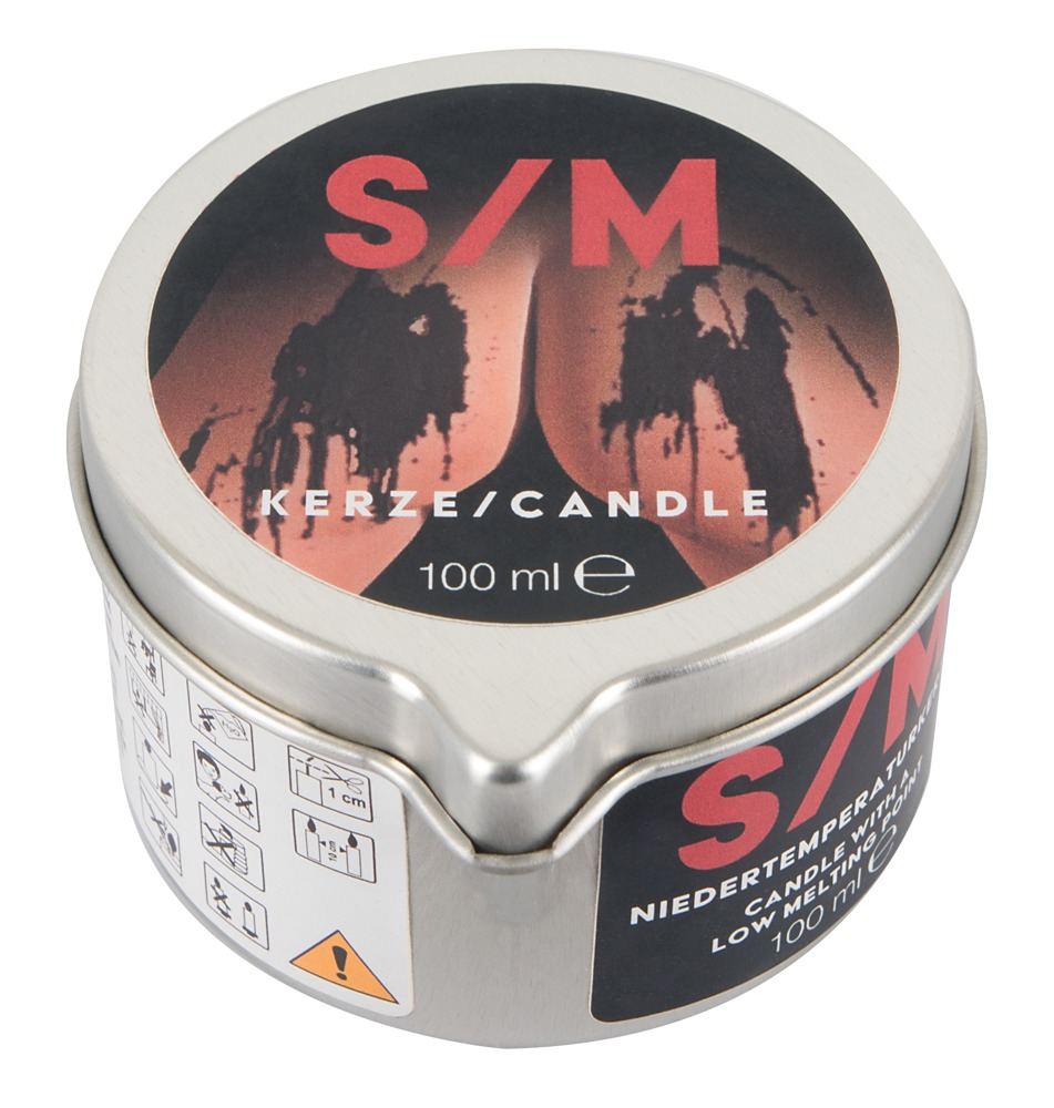 S/M Candle in a Tin black100 g